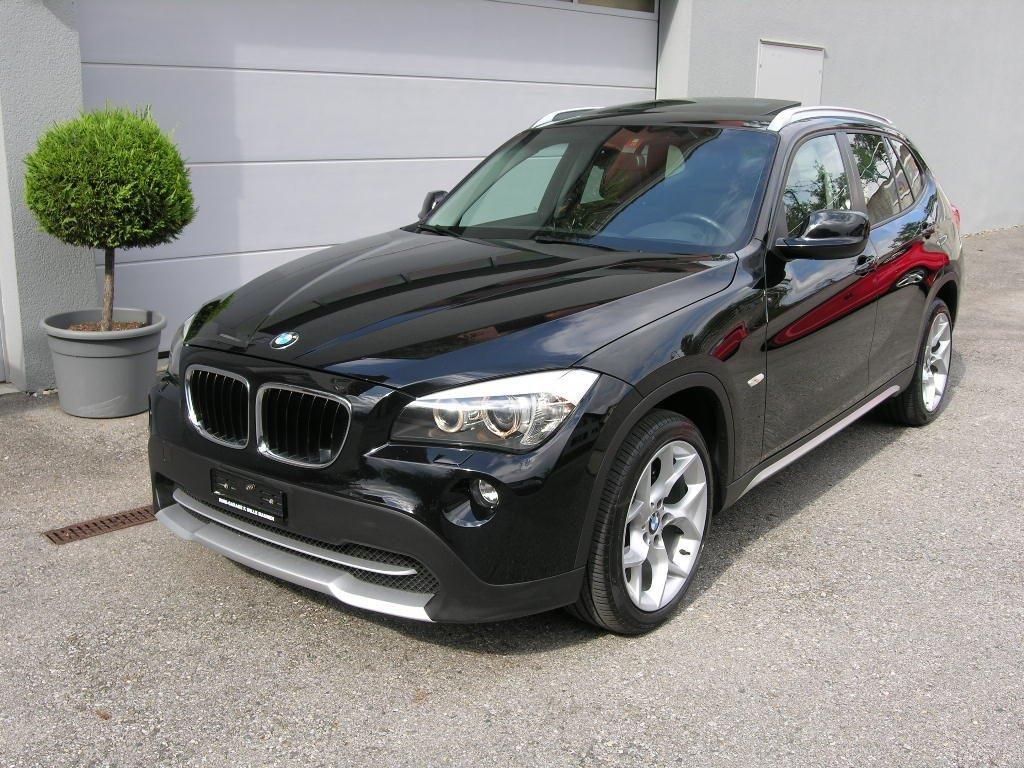 X1 BMW schwarz 001