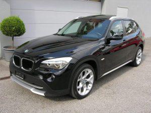 X1 BMW schwarz 002